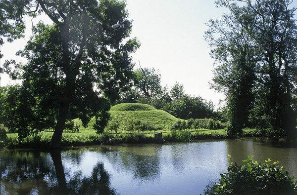 Otley Hall Garden, Suffolk