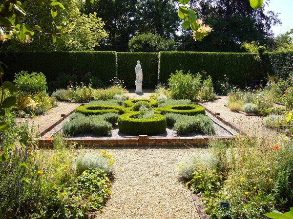 Knot Garden, Otley Hall Garden