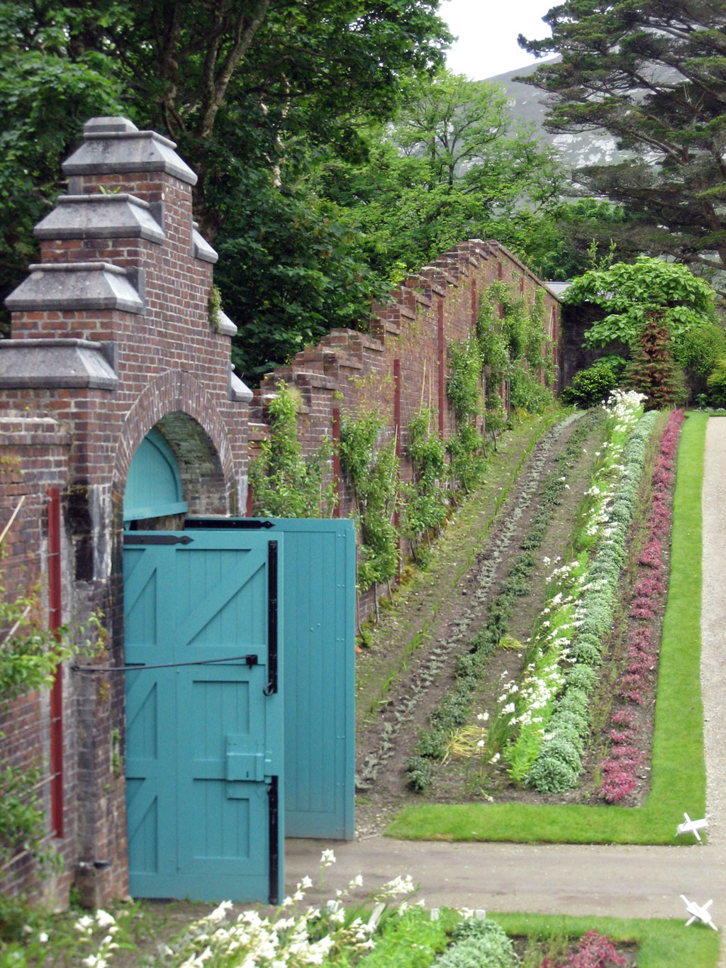 Walled Garden, Kylemore Abbey Gardens