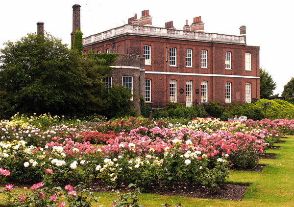 Rose Garden and Ranger's House