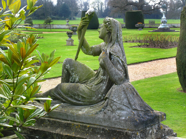 Statue, Somerleyton Hall Garden