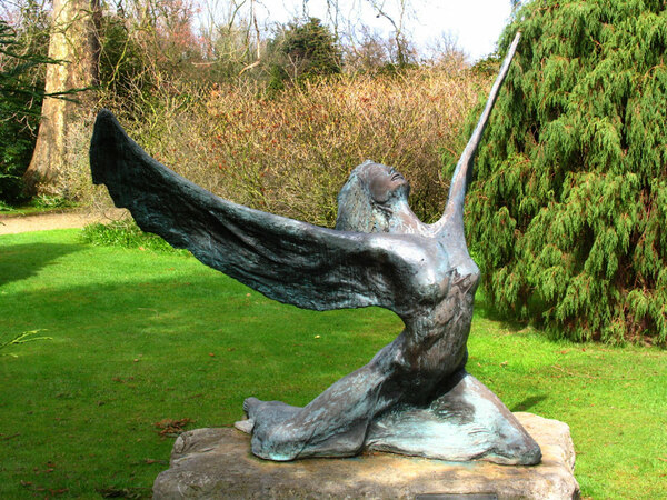 Sculpture, Somerleyton Hall Garden