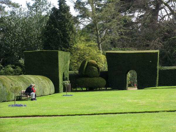 Topiary, Somerleyton Hall Garden