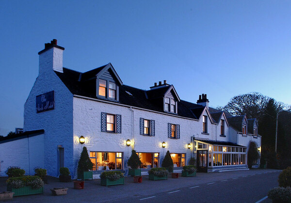 The Airds Hotel at Dusk