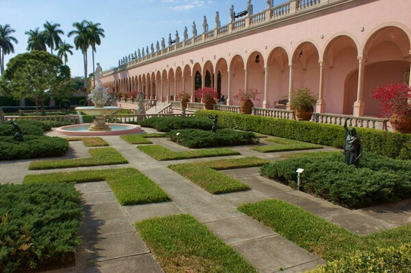 Fountain, Ringling Museum of Art