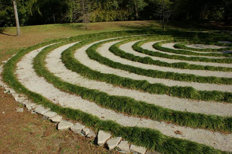 Labyrinth, Kanapaha Botanical Gardens