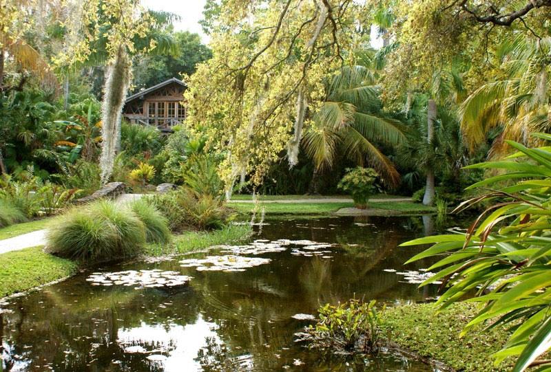 Delicieux McKee Botanical Garden, USA