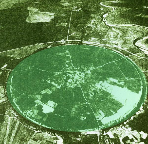 Firouzabad circular city plan