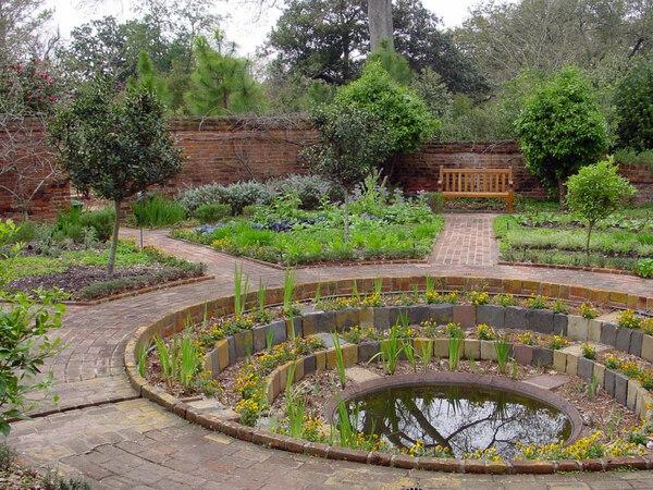 Pond, Longue Vue Gardens