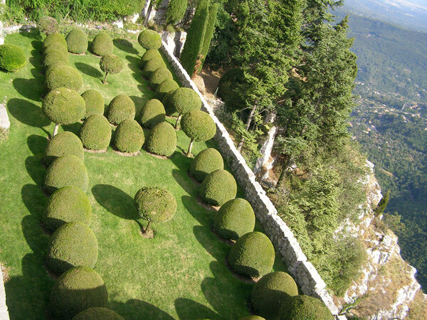 Terrace, Chateau de Gourdon