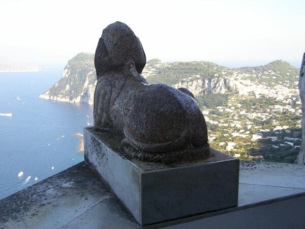 Sphinx, Villa San Michele