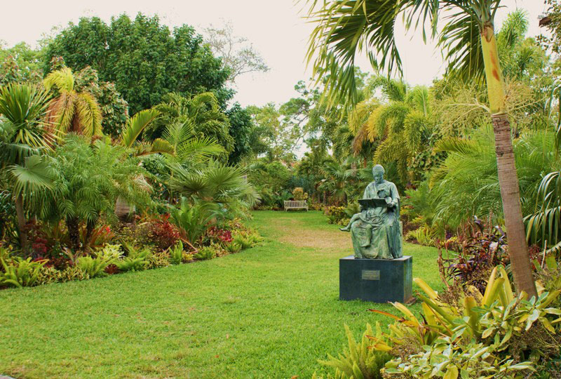 Sculpture, Mounts Botanical Garden