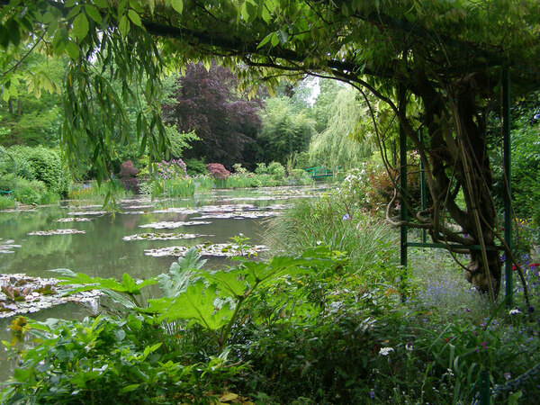 Lake, Giverny