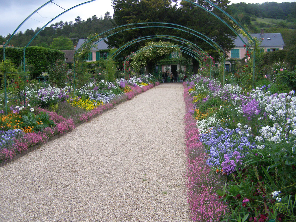 Central Walkway, Giverny