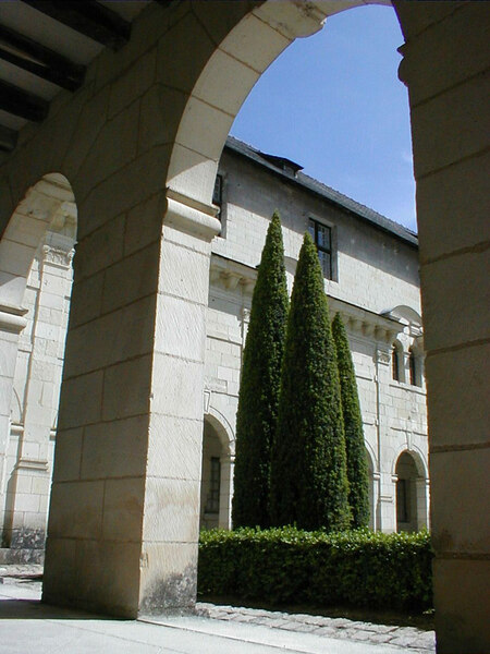 Cloister, Abbaye Royale de Fontevraud