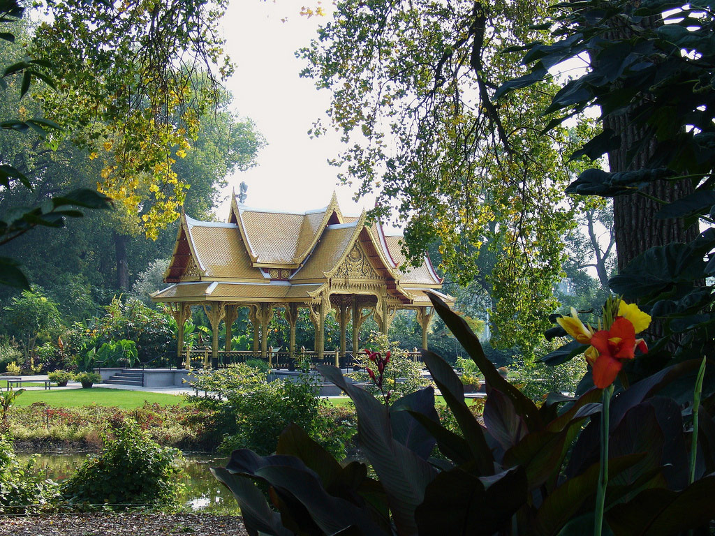 Thai Pavilion and Garden, Olbrich Botanical Gardens