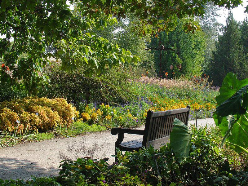 Bench, Boerner Botanical Gardens