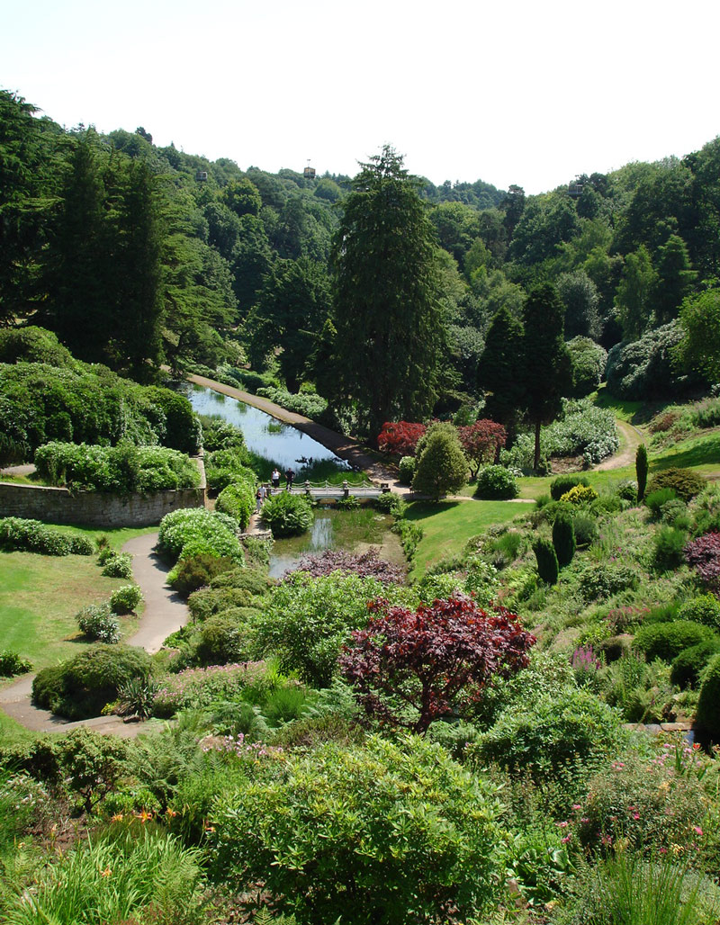 Alton Towers Resort Garden