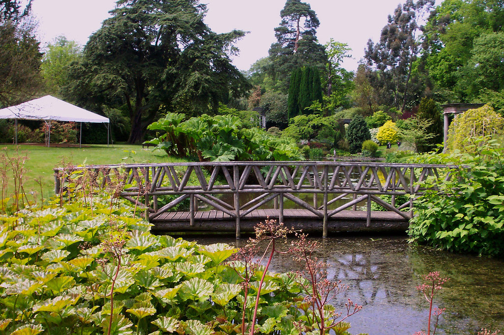 Bridge, Cholmondeley Castle Gardens