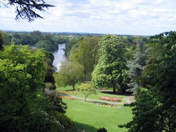 View over the Terrace Gardens, Richmond
