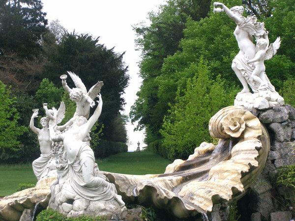 Statues, Cliveden Garden