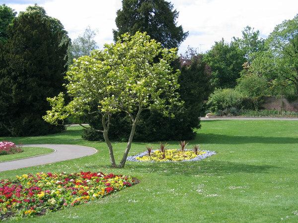 Terrace Gardens, Spring