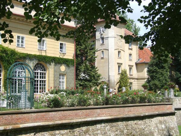 Lancut Castle Garden, Poland
