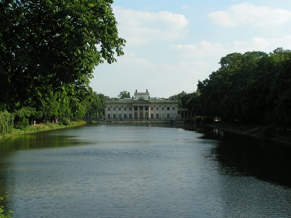 Palace on the Water, Royal Baths Park