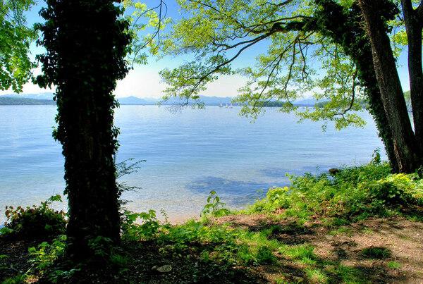 Lake Starnberg, Possenhofen Schlosspark