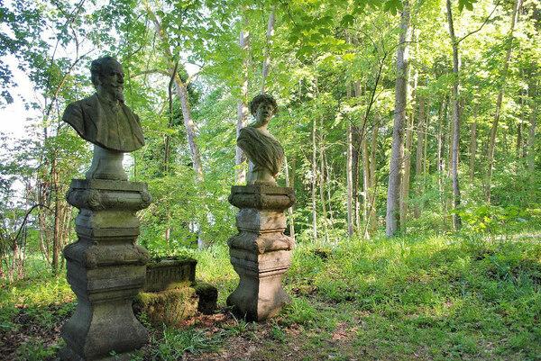 Sculpture, Hoehenried Schlosspark