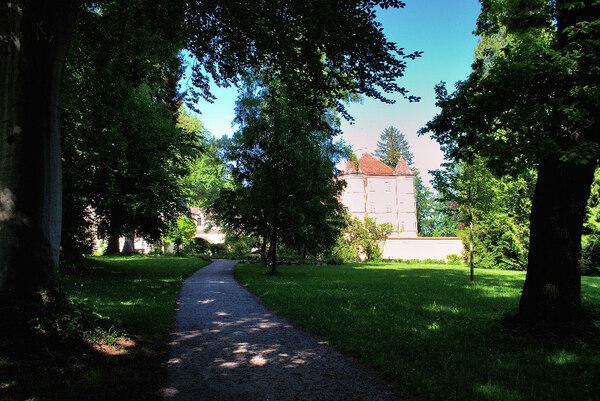 Garatshausen Schlosspark, Germany