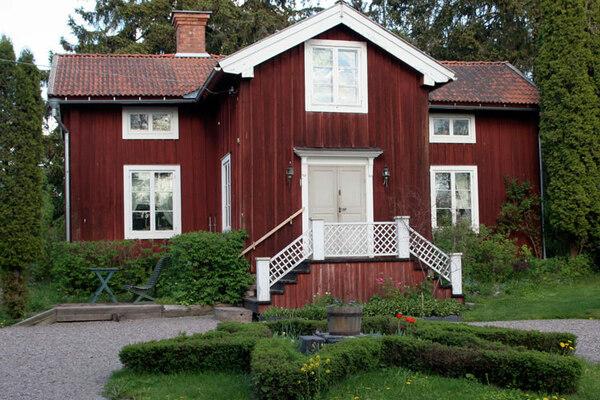 Stora Hyttnäs Garden, Sundborn