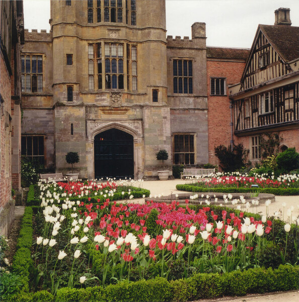 Courtyard, Coughton Court