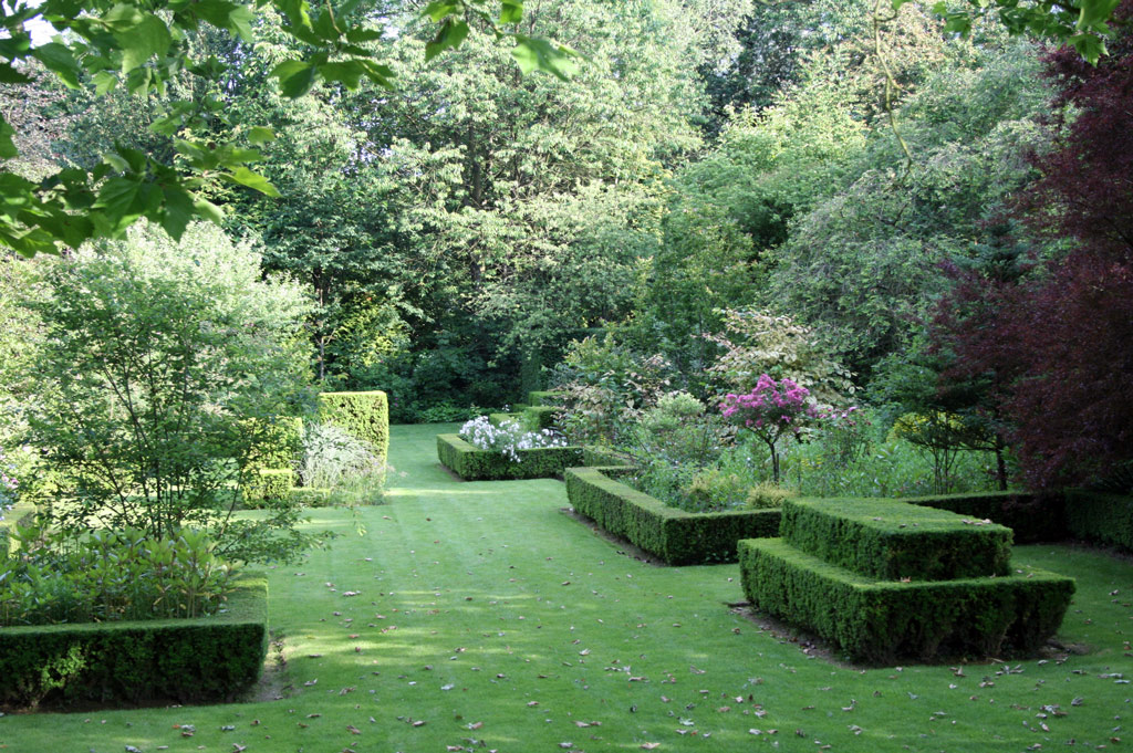 Jardins de s ricourt for Jardin original