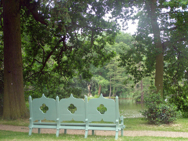 Bench, Coughton Court