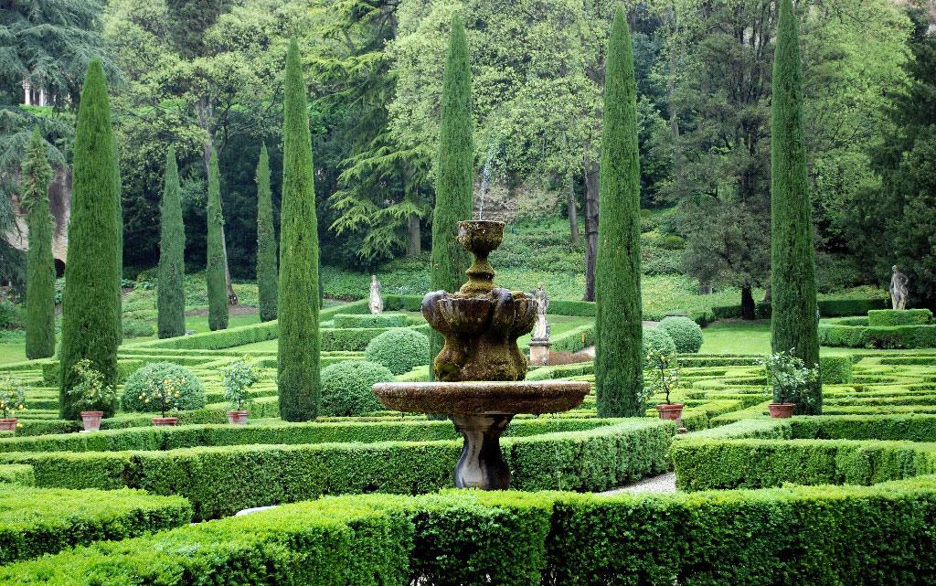 Giusti giardino for Jardin italien