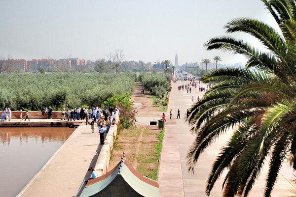 Menara Garden, Morocco