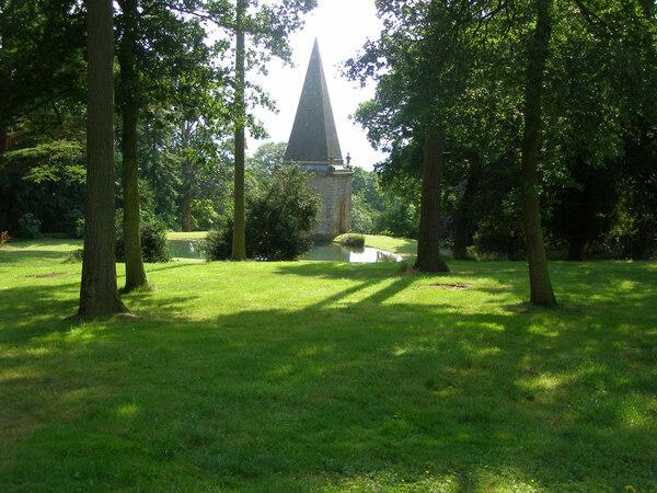 Stanway Baroque Water Gardens, Gloucestershire