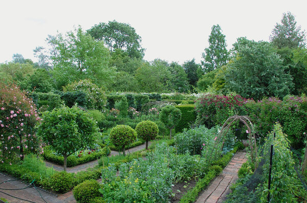 Potager, Old Rectory Gardens
