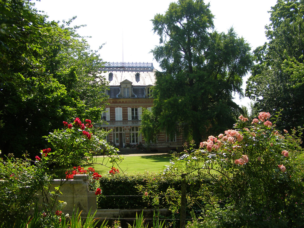 Jardin floral du chateau de digeon for Jardin de france