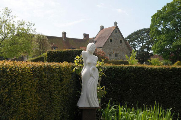 Sculpture, Michelham Priory Gardens