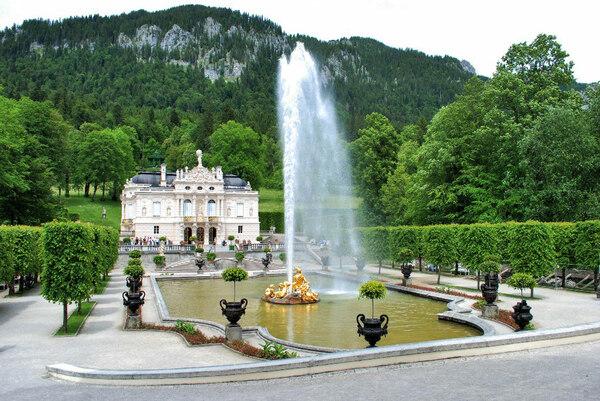 Fountain, Schlosspark Linderhof