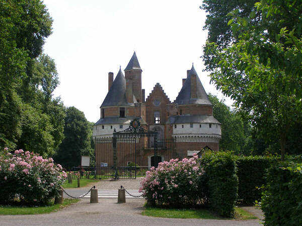 Chateau de Rambures, France