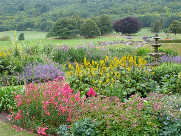 Herbaceous Planting, Titsey Place Garden