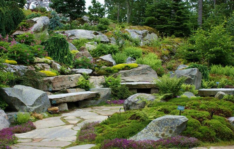 Charmant Coastal Maine Botanic Gardens, Boothbay