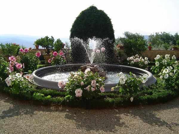 Fountain, Villa Poggio Torselli