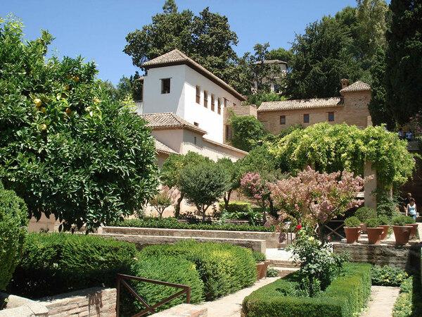 Generalife Garden, Summer