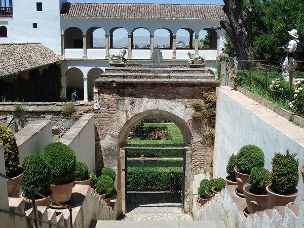 Generalife Garden, 2009