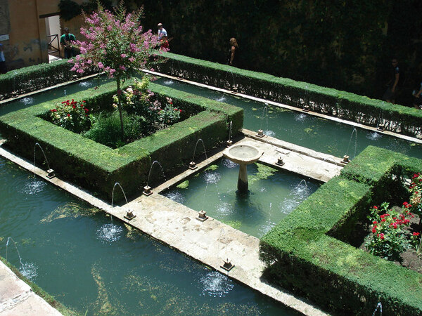 Generalife Garden, Spain
