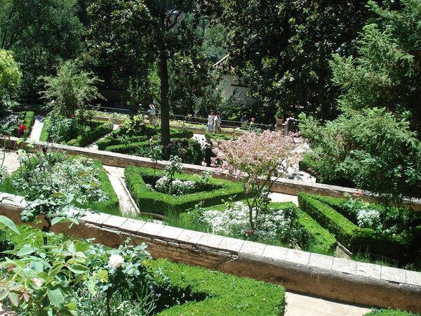 Generalife Garden, Summer 2009